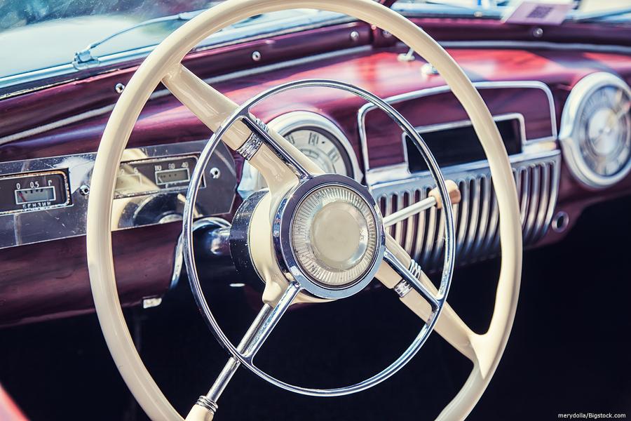 auto storage in lawton vintage project car