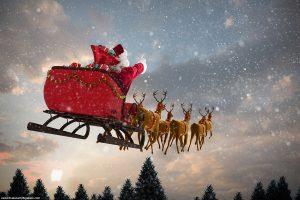 Santa Claus vehicle storage in lawton