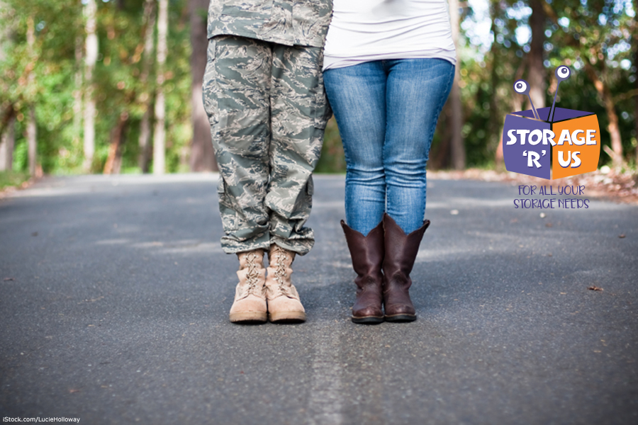 military personnel self storage