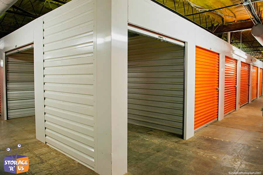 Organized self storage in Lawton Oklahoma